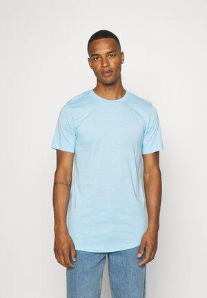 TEE 5 PACK - Basic T-shirt - black/white/lgm/light blue melange/bordeaux melange