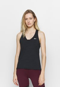 Reebok - ATHLETIC TANK - Sportshirt - black - 0
