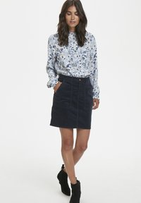 Part Two - A-line skirt - dark navy - 1