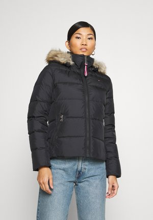 BAFFLE BOXY - Down jacket - black