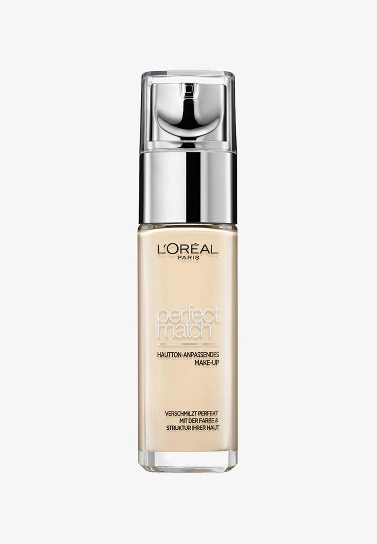 L'Oréal Paris - PERFECT MATCH MAKE-UP - Podkład - 1n ivory