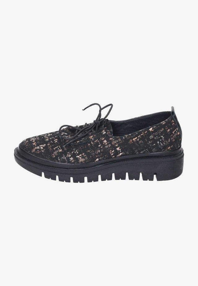 Smart lace-ups - schwarz