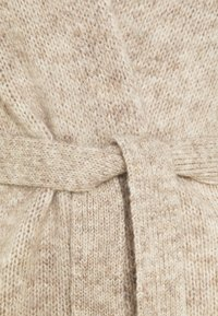 Selected Femme Petite - SLFKISSI SLIT CARDIGAN - Cardigan - sandshell - 2