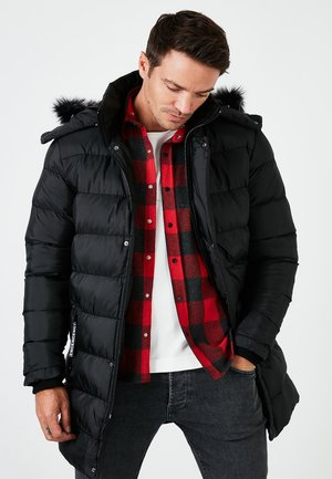 REMOVABLE INFLATABLE - Winter coat - black