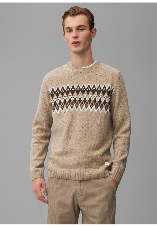 NORWEGER - Jumper - taupe gray