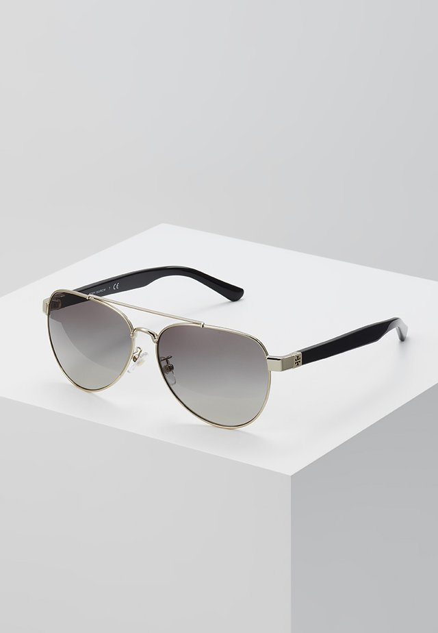 Lunettes de soleil - shiny light gold-coloured