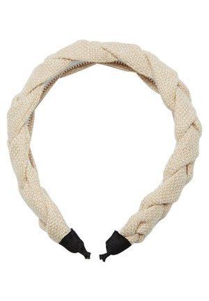 GEFLOCHTENER HAARREIF RUSTIKAL - Accessoires cheveux - white