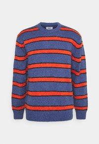 Obey Clothing - BISHOPS - Sweatshirt - purple mountain multi - 0