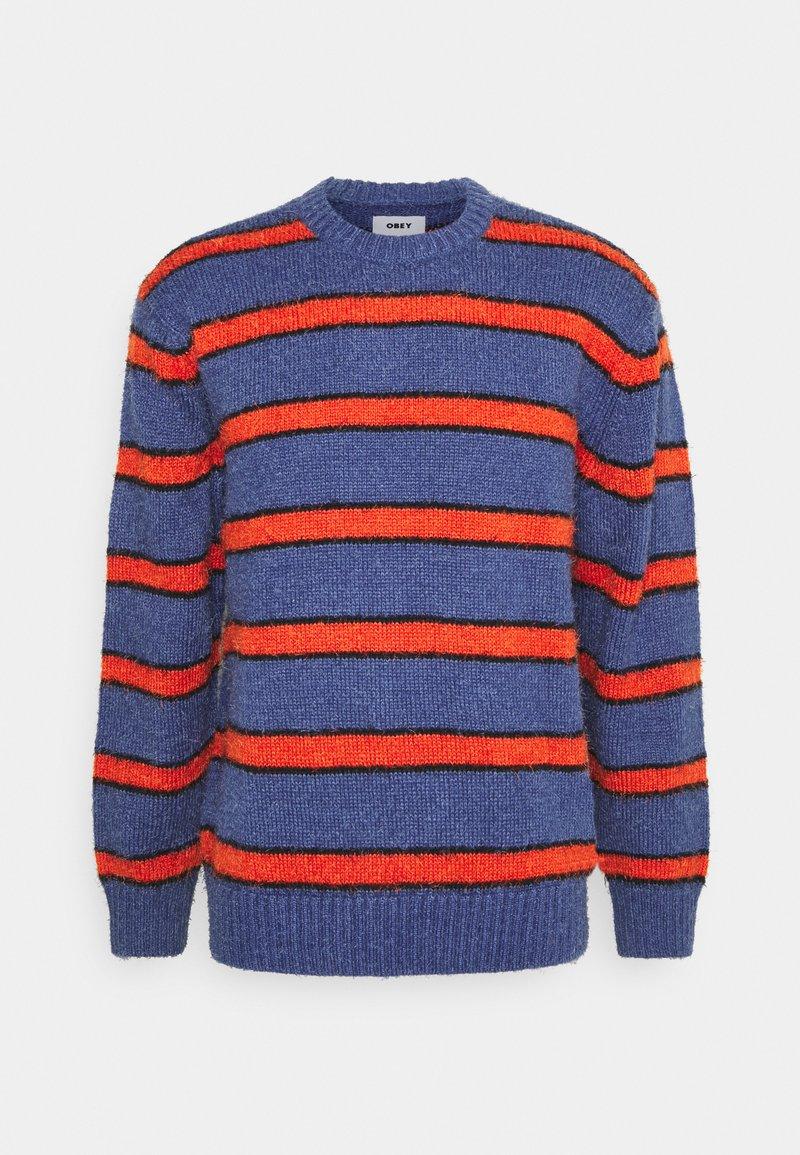 Obey Clothing - BISHOPS - Sweatshirt - purple mountain multi