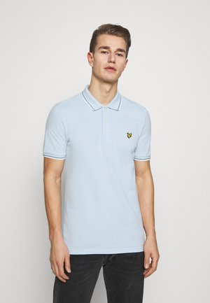 SEASONAL TIPPED - Poloshirt - deck blue/white