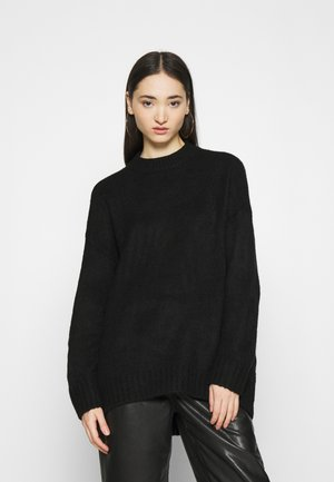 ONLPUFFY LONG - Neule - black