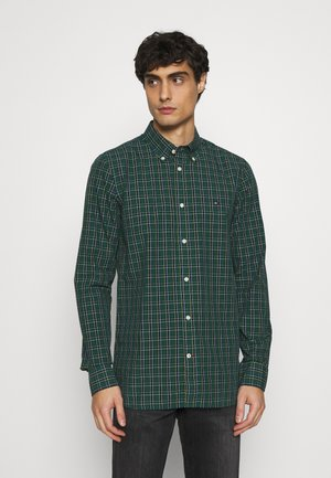 SLIM SMALL TARTAN CHECK - Shirt - green