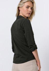 zero - Button-down blouse - olive green - 2