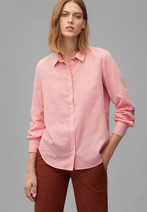 Button-down blouse - hazy peach