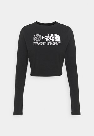 COORDINATES TEE - Long sleeved top - black