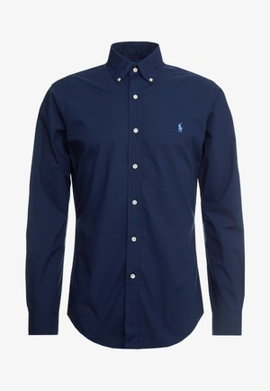 NATURAL SLIM FIT - Skjorta - newport navy