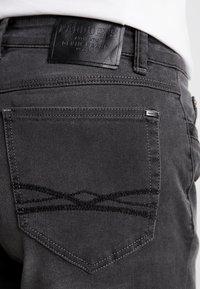 Paddock's - RANGER PIPE - Jeans slim fit - grey denim - 5