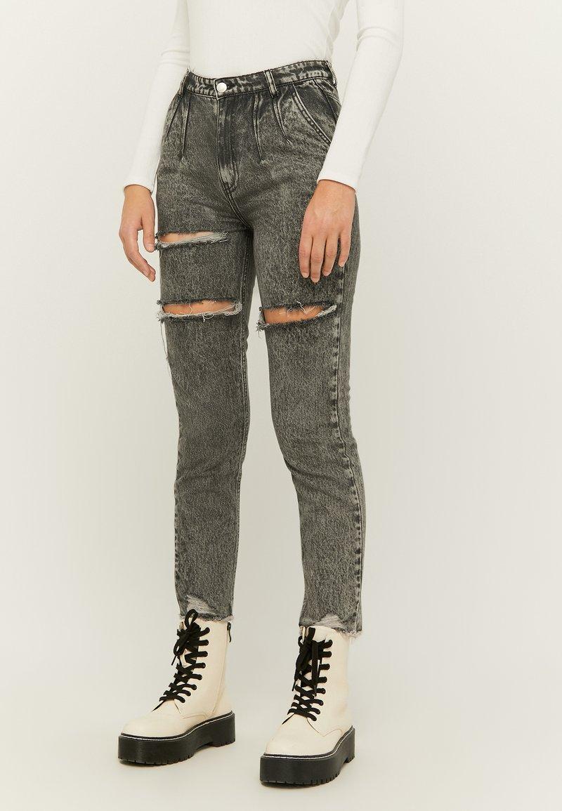 TALLY WEiJL - Slim fit jeans - gry