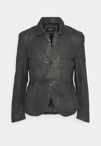 Be Edgy - LOGAN - Leather jacket - anthra - 3