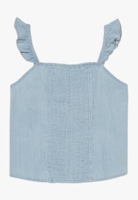 Abercrombie & Fitch - PIN TUCK MATCH  - Blouse - chambray - 0