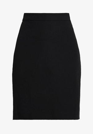 PENCIL NEW - Pouzdrová sukně - black