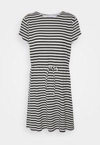 VIMOONEY STRING - Jersey dress - black