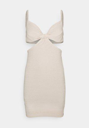 TOWEL DRESS - Beach accessory - light beige