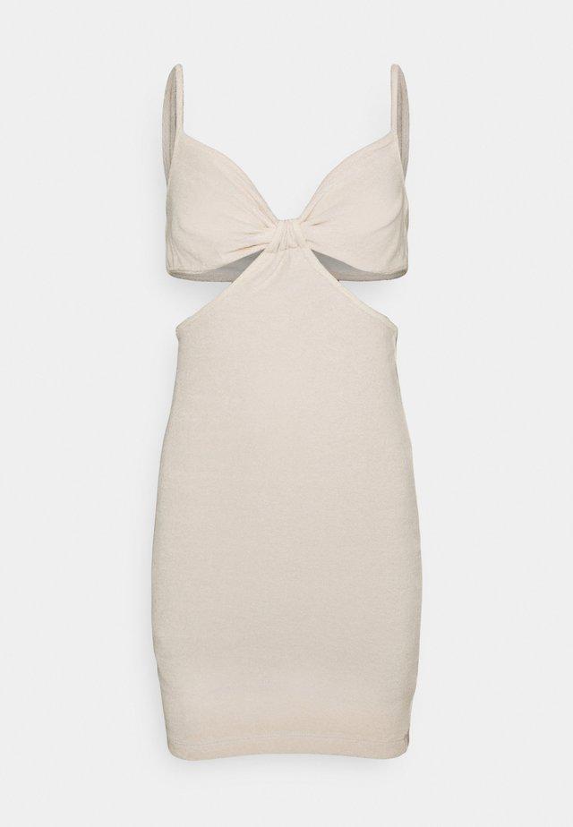 TOWEL DRESS - Strandaccessoar  - light beige