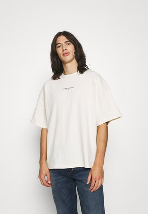 BOLD VINTAGE UNISEX - Print T-shirt - creme