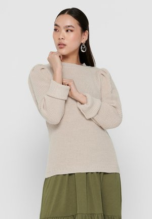 Strickpullover - pumice stone