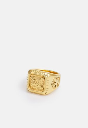 AMERICAN EAGLE SQUARE SIGNET - Ringe - gold-coloured