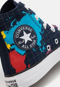 Converse - CHUCK TAYLOR ALL STAR WORLDWIDE UNISEX - Baskets montantes - obsidian/sail blue/university red - 5