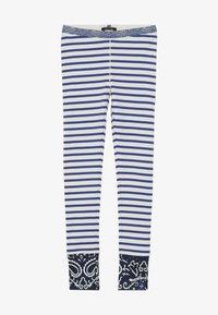 Scotch & Soda - SPECIAL MIX - Leggings - Trousers - blue/white - 3
