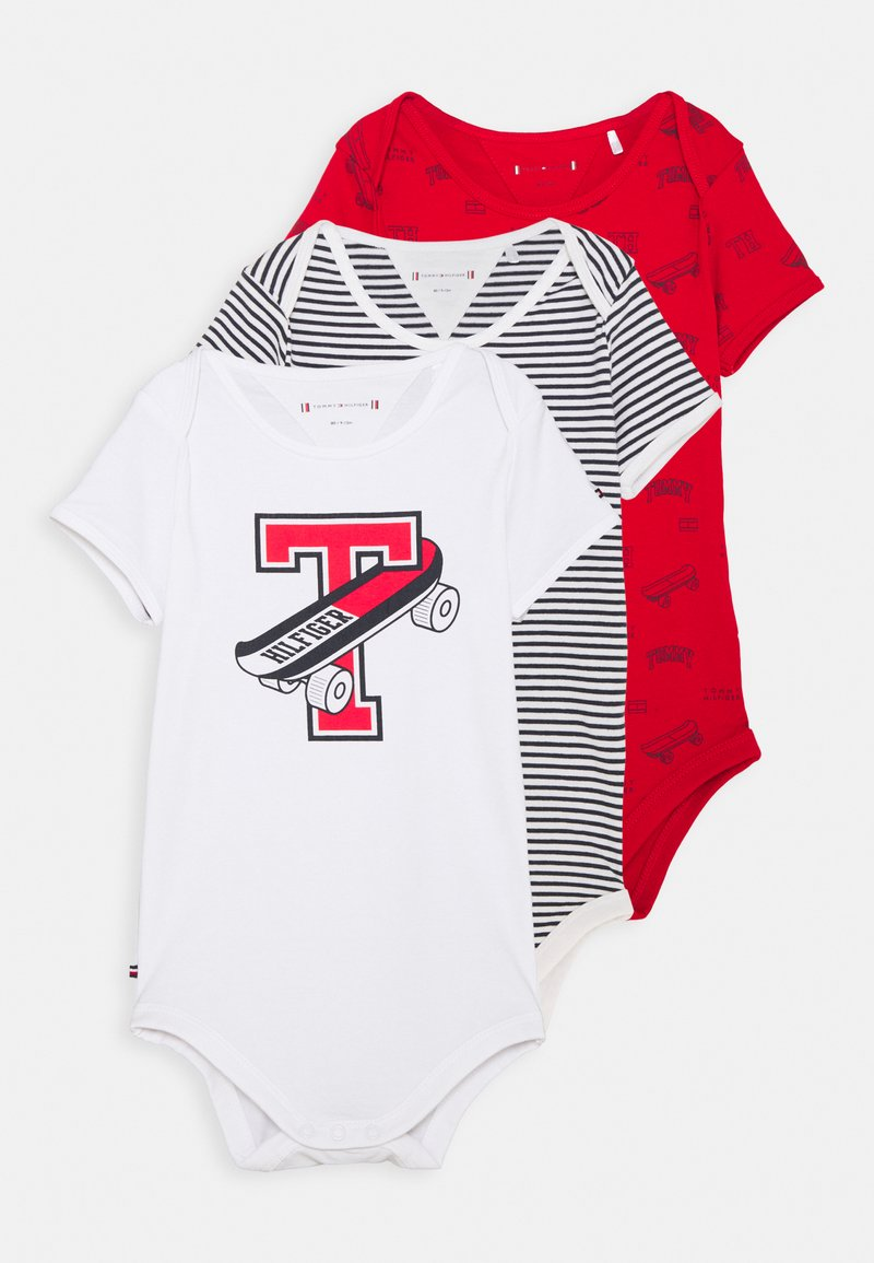 Tommy Hilfiger - BABY GIFTPACK 3 PACK UNISEX - Body - deep crimson