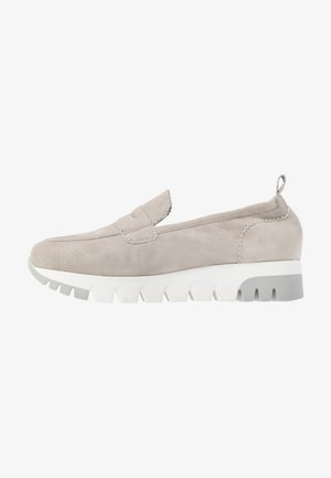 SLIP-ON - Mocassins - light grey