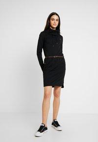 Ragwear - LAURRA - Korte jurk - black - 2