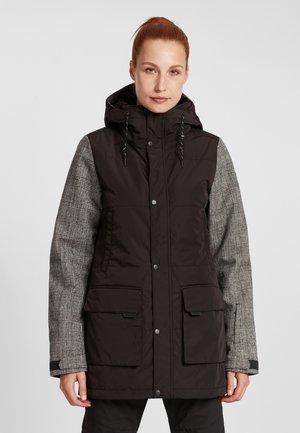 SNOW PARKA - Snowboard jacket - black out