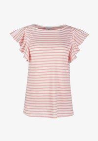 Oliver Bonas - FRILL  - Print T-shirt - pink - 4