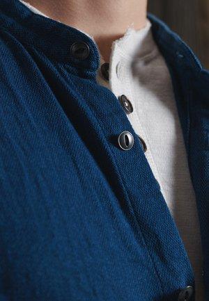 HENLEY WORKWEAR  - Shirt - rinse herringbone