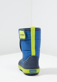 Crocs - LODGEPOINT BOOT RELAXED FIT - Boots - blue jean/navy - 3
