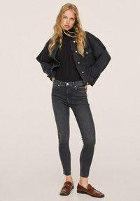 Mango - Jeans Skinny Fit - open grey - 1