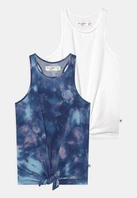 Abercrombie & Fitch - 2 PACK - Toppe - multi-colour/white - 0