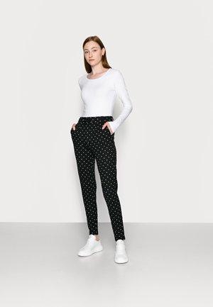 ONLLIVELOVE LIFE ONECK 2 PACK - Long sleeved top - black/white
