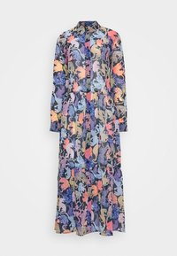 Monki - COLLINA DRESS - Skjortekjole - blue - 3