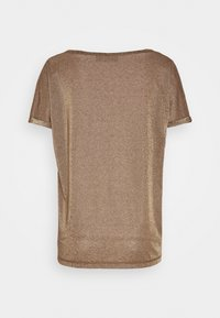 Mos Mosh - KAY TEE - Basic T-shirt - chocolate chip - 1