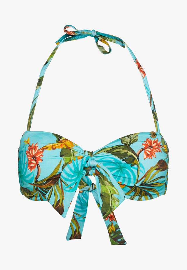 TONTO BANANAS - Bikini top - turquoise