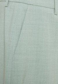 Gestuz - AMALIGZ WIDE PANTS - Trousers - slate gray - 4