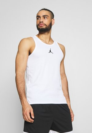 23ALPHA BUZZER BEATER TANK - Linne - white/black