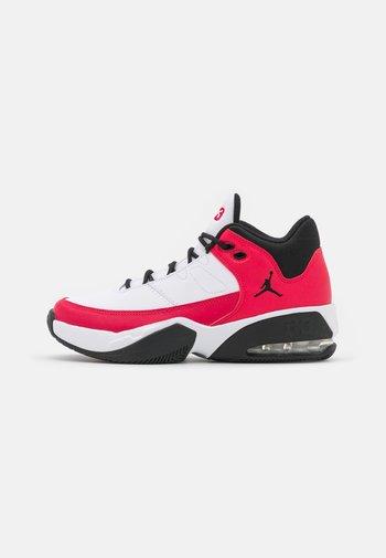 MAX AURA 3 UNISEX - Basketbalschoenen - white/very berry/black