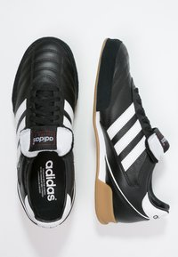adidas Performance - KAISER 5 GOAL - Zaalvoetbalschoenen - black/running white - 1